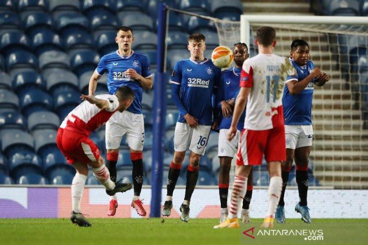 Liga Europa: Slavia Praha singkirkan Rangers selepas menang di Ibrox