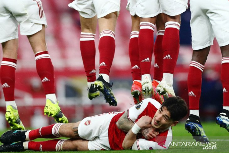 Liga Europa: Hector Bellerin yakin Arsenal bisa balas Slavia Praha di leg kedua