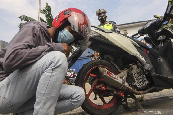 Jelang Ramadhan, Polres Lhokseumawe tertibkan knalpot racing