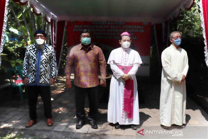 Bupati Buleleng: Pembangunan Gereja Santo Paulus menguatkan toleransi