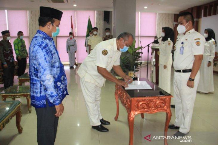 Dilantik menjadi Ketua Pengurus PPI HST, H Aidi gaungkan tagline TERNAMA