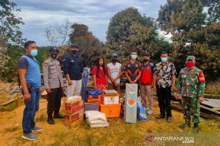 BPBD Kabupaten Penajam bantu logistik korban kebakaran