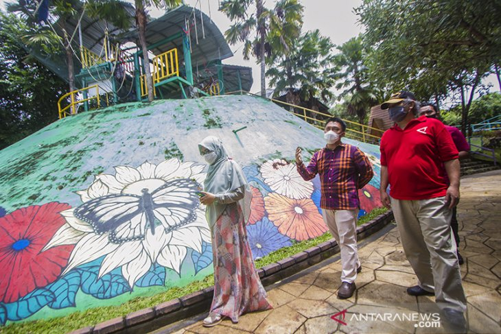 LKBN ANTARA Biro Kalsel Berkunjung Ke Amanah Borneo Park