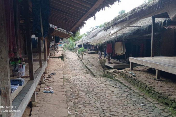 Masuki Bulan Kawalu, permukiman kawasan Badui sepi wisatawan