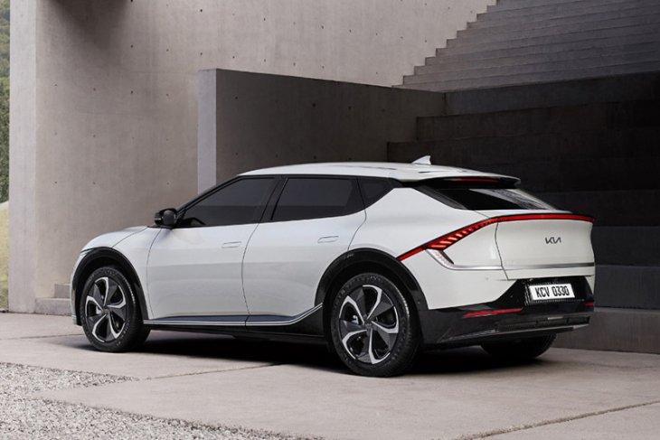 Kia rilis desain mobil listrik EV6
