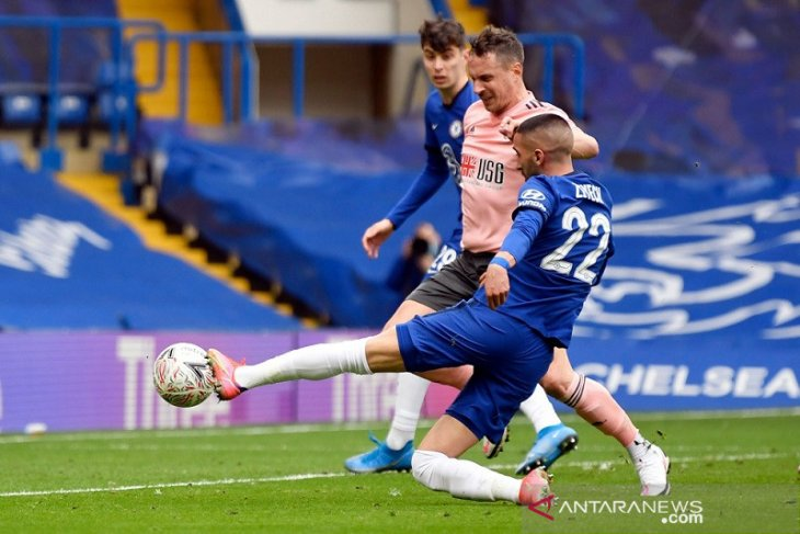 Chelsea bungkam Sheffield United menuju semifinal Piala FA