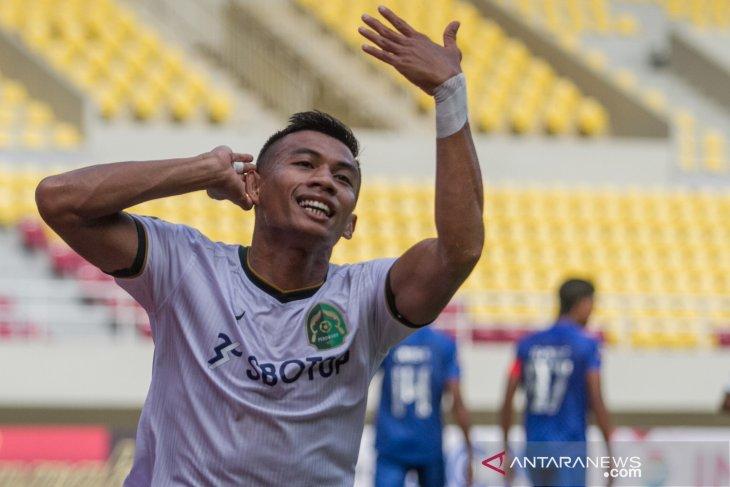 Piala Menpora: Pelatih Persikabo kesal permainan apik timnya tercoreng gol Arema