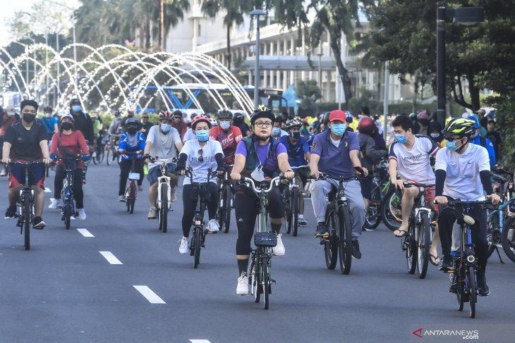 Pembangunan tugu sepeda Rp800 juta tunjukan keberpihakan DKI