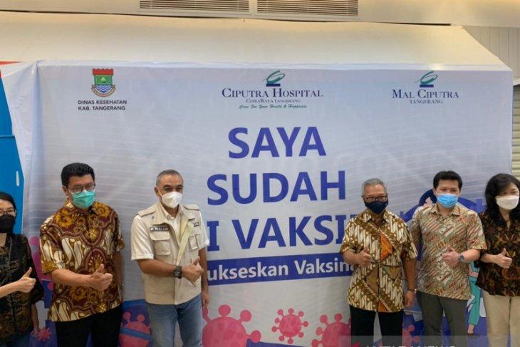 Mal Ciputra Tangerang gelar vaksinasi target 3.000 Lansia
