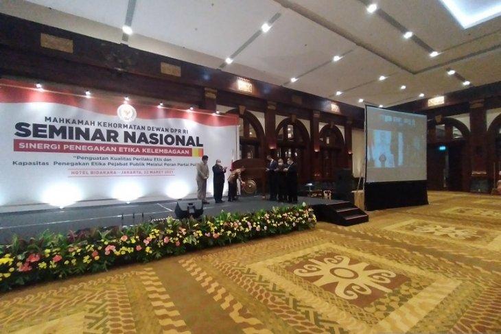 DPR komitmen tegakkan etika pejabat publik