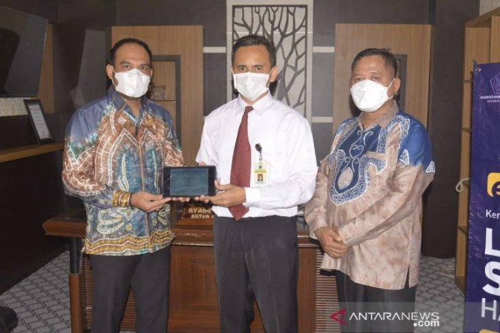 Ketua DPRD Kotabaru serahkan laporan SPT