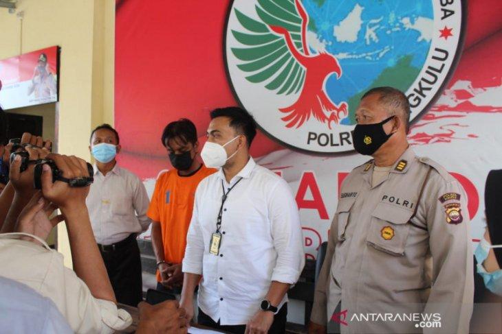 Polres Bengkulu gagalkan transaksi narkoba senilai Rp100 juta