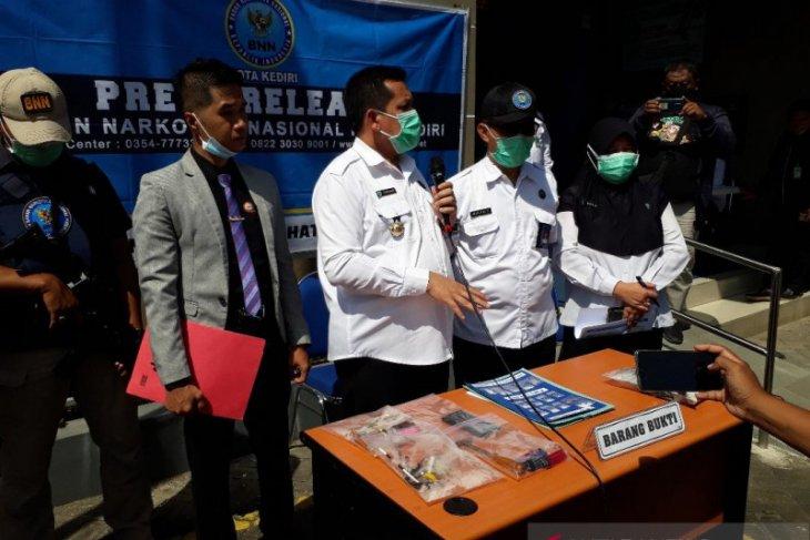 BNN Kota Kediri tangkap pengedar narkoba