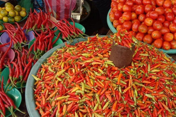 Harga cabai merah di pasar tradisonal Ambon melonjak