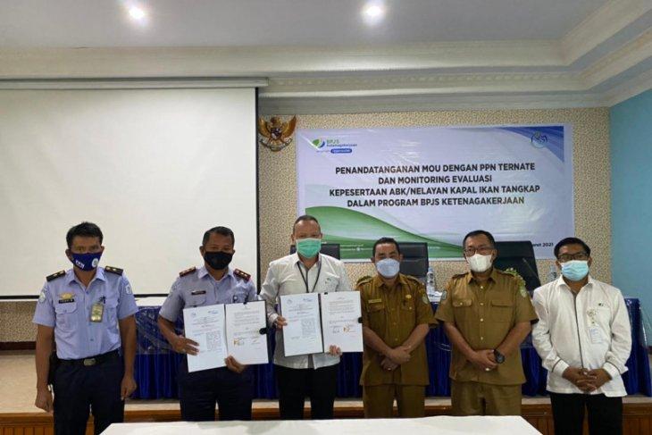 Teken Kerjasama dengan PPN Ternate Tenaga Kerja Ikan Tangkap dilindungi program BPJAMSOSTEK