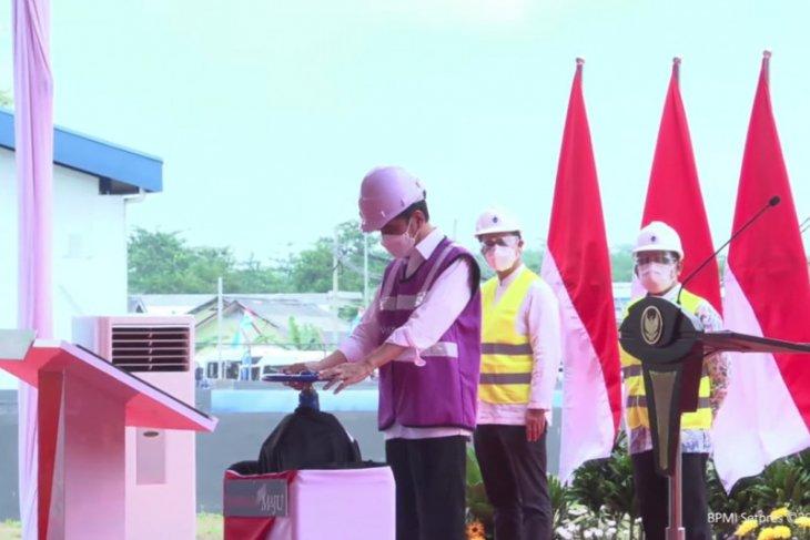 Presiden Jokowi resmikan SPAM Umbulan di Pasuruan