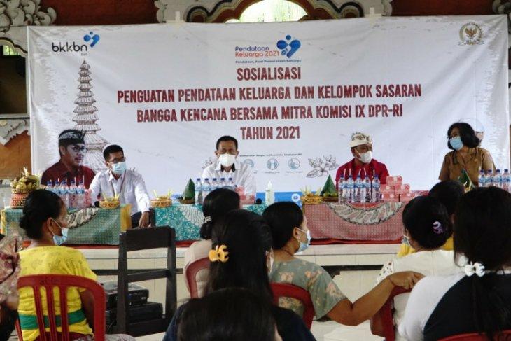 BKKBN Bali kerahkan 7.437 kader pendataan keluarga 2021