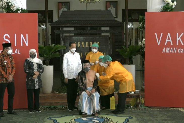 Presiden cek kesiapan pelaksanaan vaksinasi COVID-19 di daerah