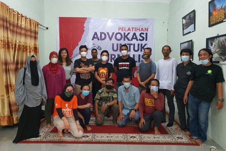 Anggota PFI Medan berlatih advokasi bersama KontraS Sumut