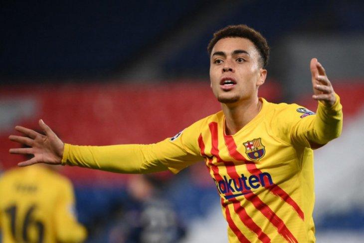 Sergino Dest jadi pemain AS pertama cetak dua gol di Spanyol