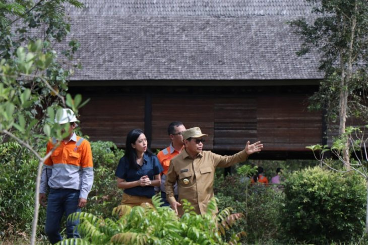 Bupati Tapin dan PT. AGM kometmen lestarikan habitat bekantan di Kalsel