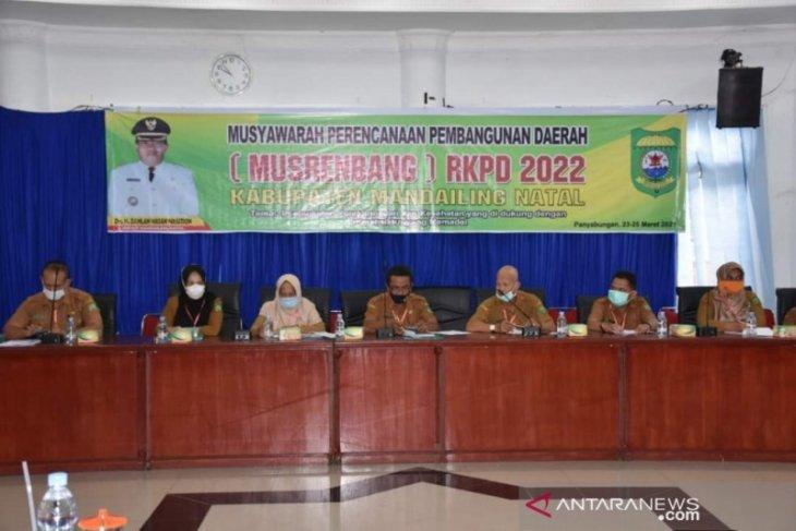 Bupati Madina buka Musrenbang RKPD tahun 2022