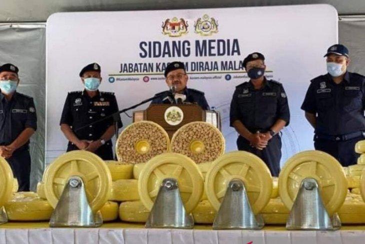 Malaysia sita narkoba Rp17,5 triliun