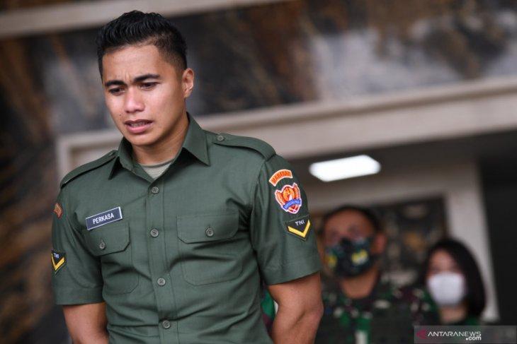 Serda Aprilio Manganang sebut Kasad Jenderal Andika selamatkan hidupnya