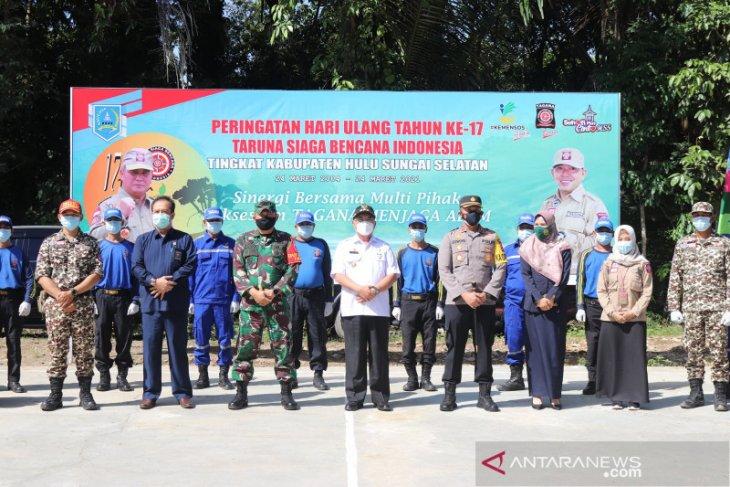 Puncak HUT ke-17, Bupati HSS apresiasi peran aktif Tagana