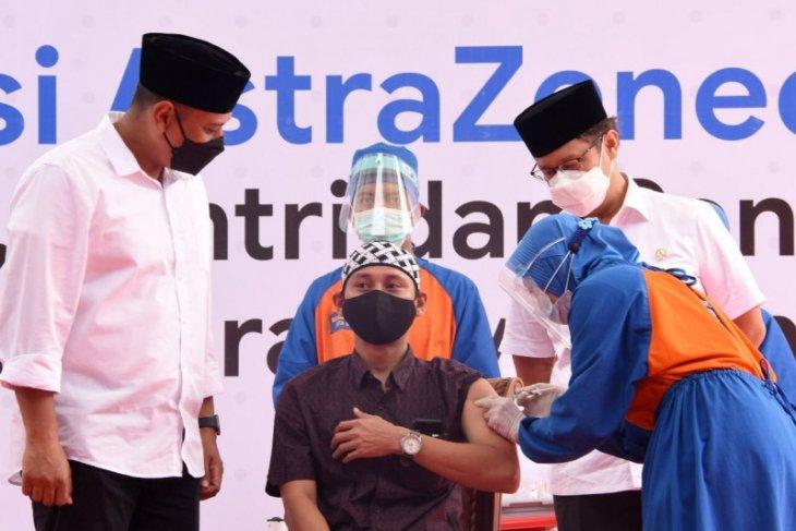 Wali Kota Kediri pastikan kegiatan vaksinasi COVID-19 berjalan lancar