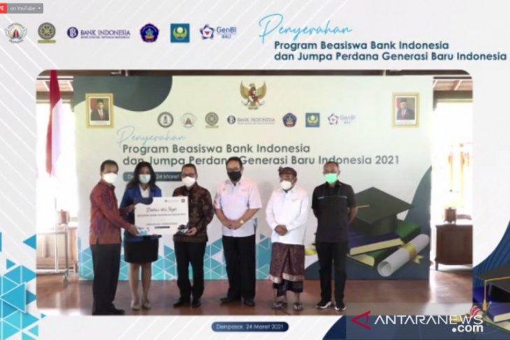Bank Indonesia Bali berikan 225 beasiswa untuk mahasiswa