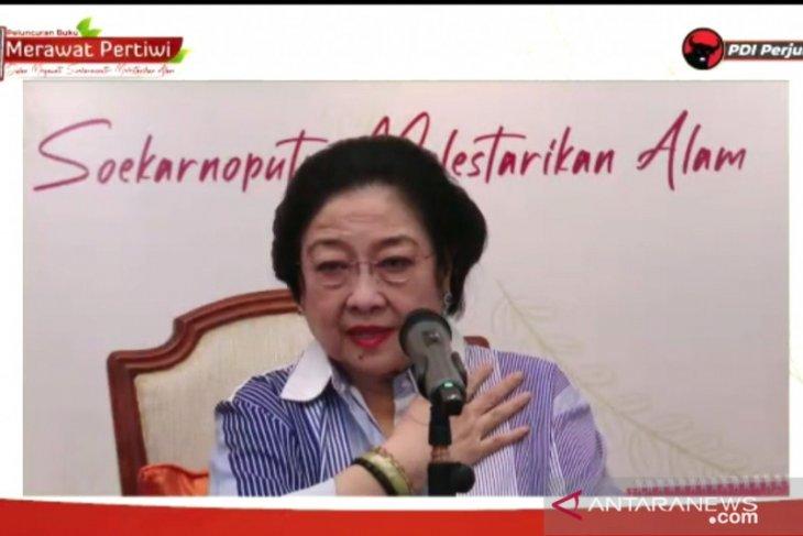 Megawati bela Jokowi soal tuduhan jabatan presiden tiga periode