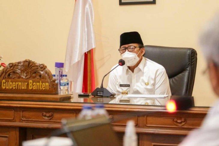 Gubernur Banten Wahidin Halim evaluasi kesiapan sekolah tatap muka