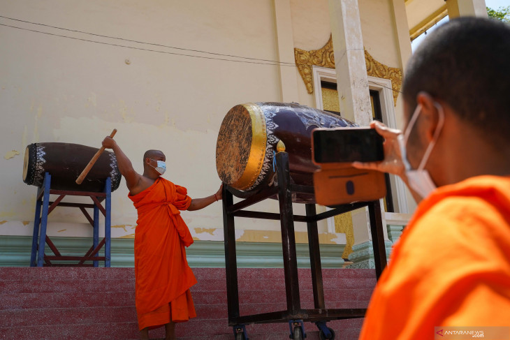 Kasus COVID-19 varian Delta bertambah di Kamboja