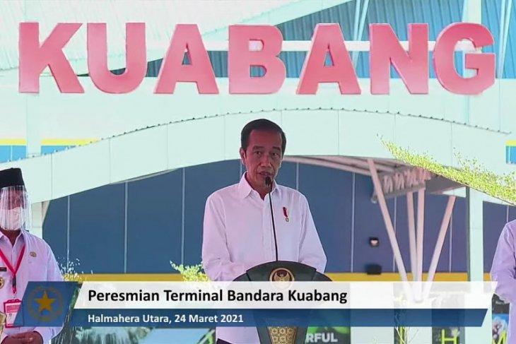 Presiden: Pembangunan infrastruktur  bangun daya saing dan keadilan