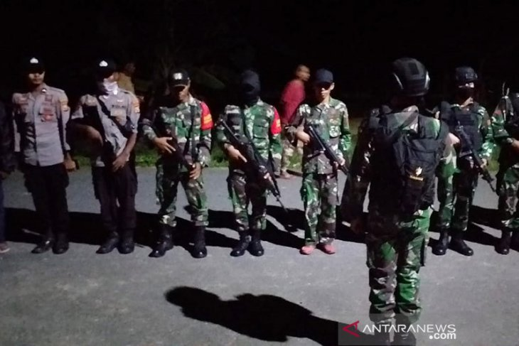 Polres terjunkan personelnya terkait pembunuhan tiga warga di hutan