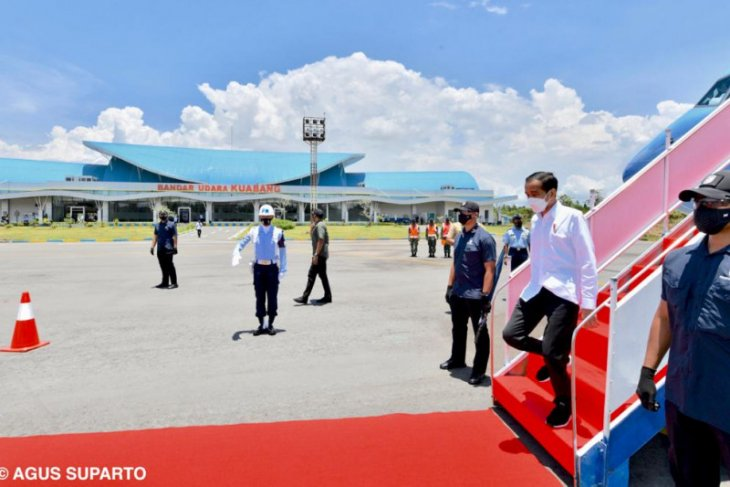 Presiden Jokowi Bangun infrastruktur dorong peradaban baru