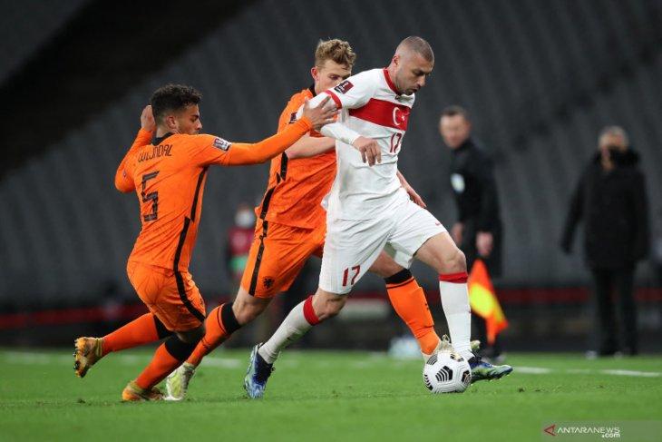 Belanda kalah 2-4 di kandang Turki