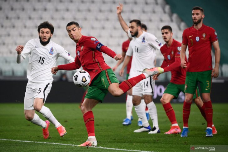Portugal  menang tipis lawan Azerbaijan
