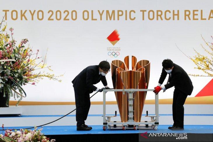 Panitia Olimpiade Tokyo laporkan kasus COVID pertama di kirab obor