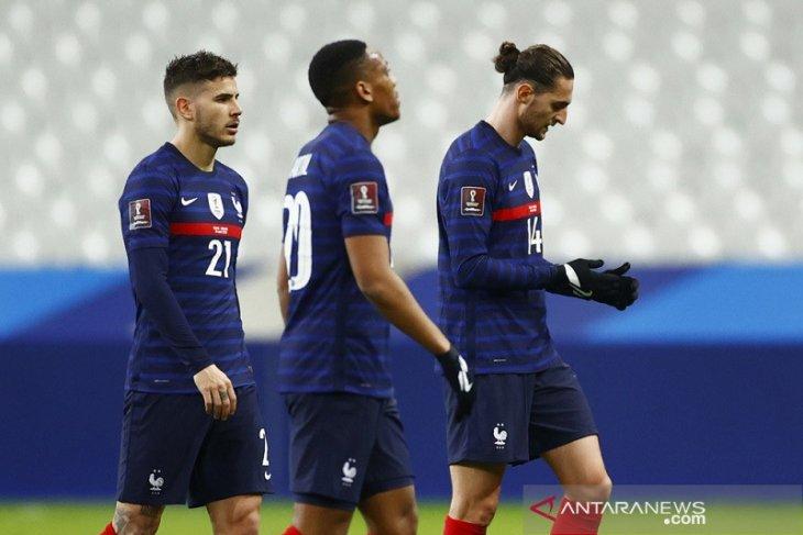 Prancis imbang dengan Ukraina di awal kualifikasi Piala Dunia 2022