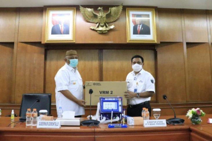 Gorontalo terima lima ventilator gratis dari PT Pindad