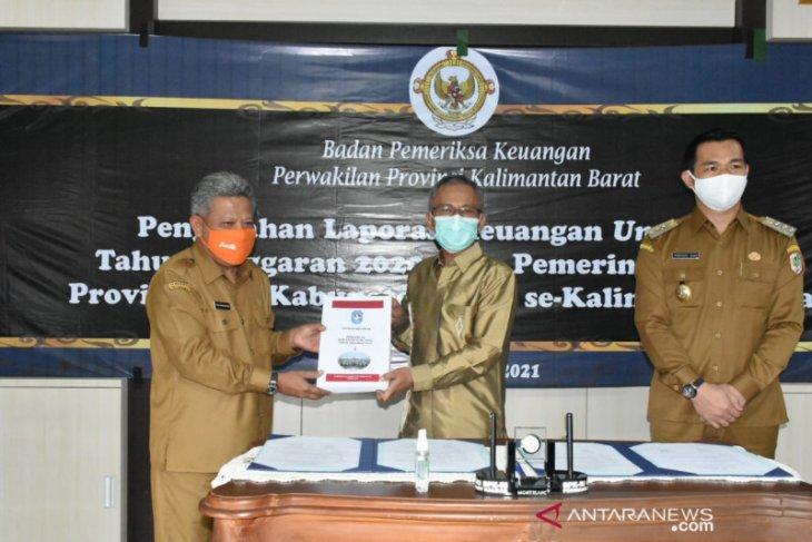 Kubu Raya targetkan perolehan WTP dari BPK