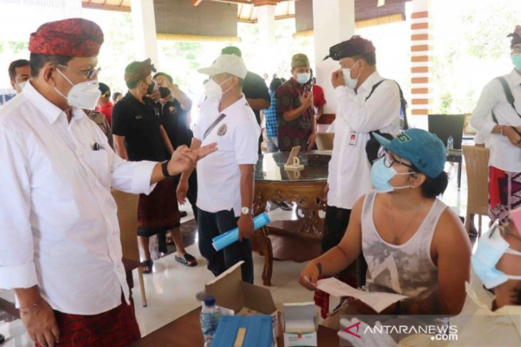 Bali Governor: Secured 700 thousand doses of COVID-19 vaccine