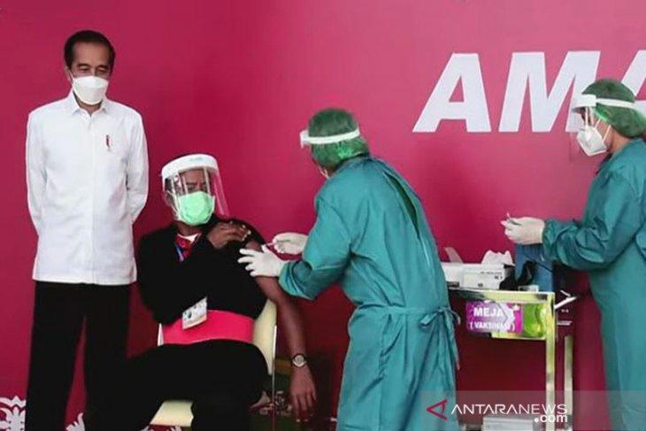 Vaksinasi COVID-19 di Maluku baru capai 623 persen begini penjelasannya