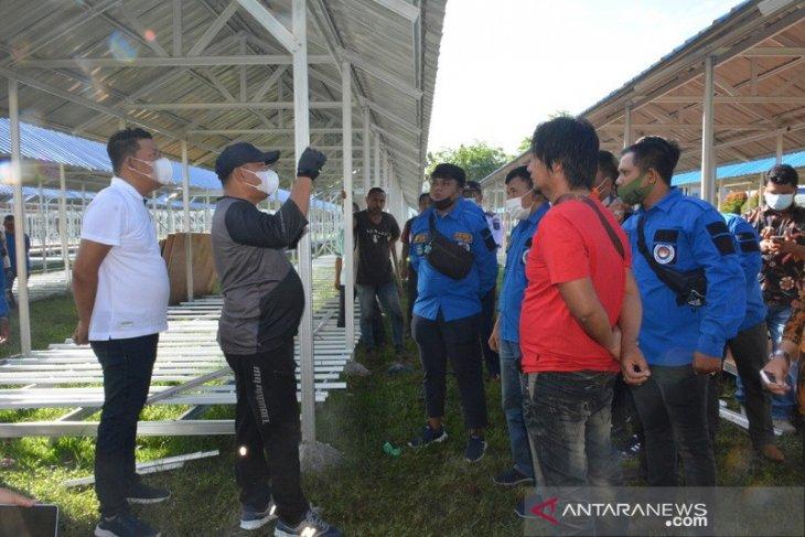 Wali Kota Sibolga tinjau tempat relokasi pedagang