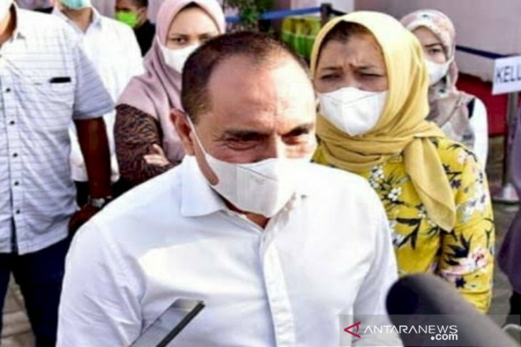 Kasus penjualan vaksin COVID-19, Gubernur Sumatera Utara akan pecat dokter ASN terlibat