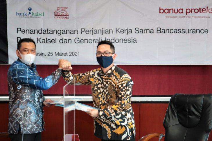 Bank Kalsel kolaborasi dengan generali luncurkan asuransi jiwa Banua Proteksi