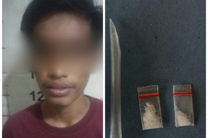 Polsek Padang Tualang ringkus warga Tanjung Pura miliki sabu-sabu