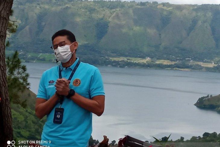 Menparekraf: Danau Toba tak kalah dengan Bali